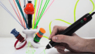 The Renegade 3D-printing pen turns recycled plastic bottles and bags into art