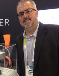 Founder Matt Craine at CES
