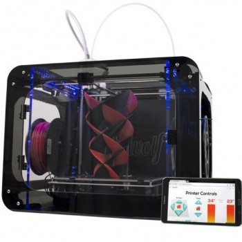 Airwolf 3D HDR 3D Printer with wi-fi