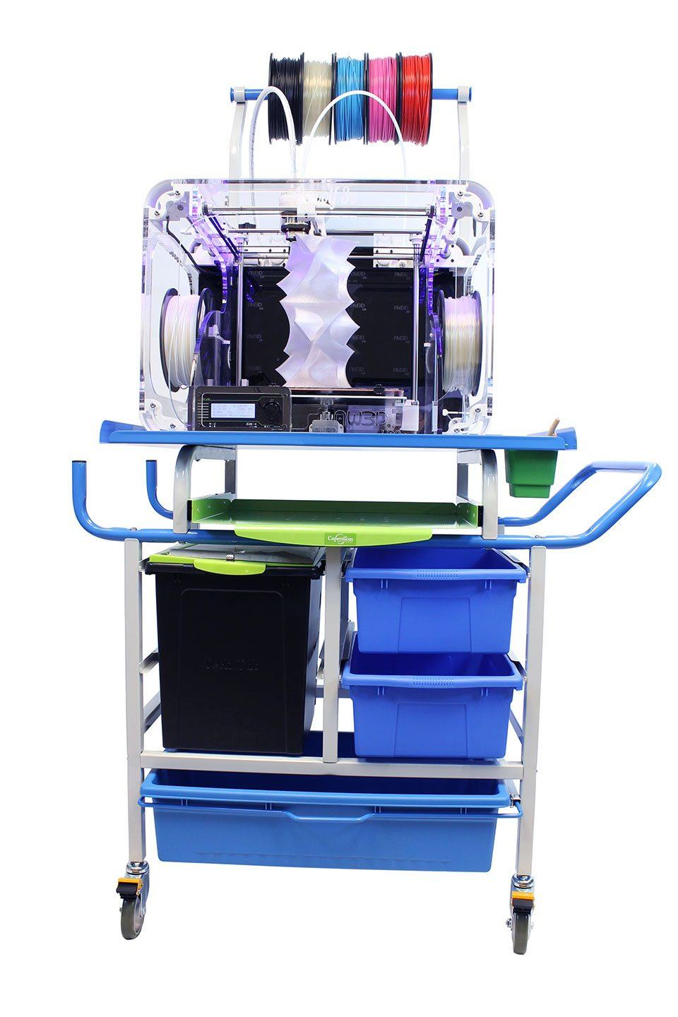 Airwolf AXIOM3 3d printer for schools and education