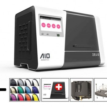 the all in one ZEUS 3D printer educational package