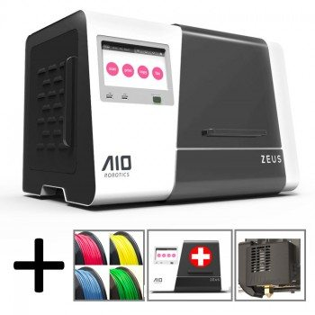 the all in one ZEUS 3D printer starter package