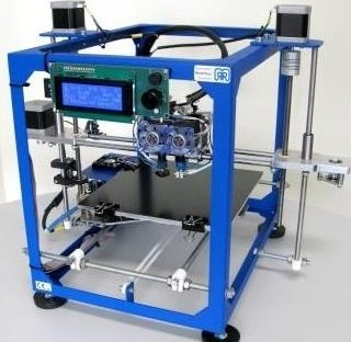 The German RepRap PRotos 3D Printer is for the ambitious home user, schools and businesses