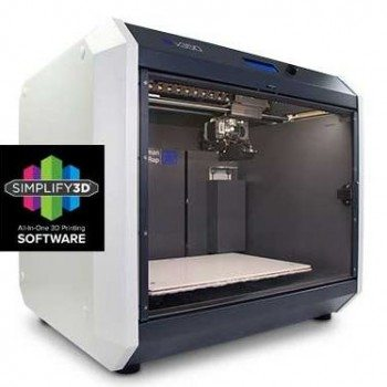 The German RepRap X350 3D Printer is a fully assembled desktop 3D printer loaded with all the features necessary for professional use