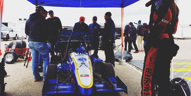 Embry Riddle Formula SAE Team Michigan Speedway