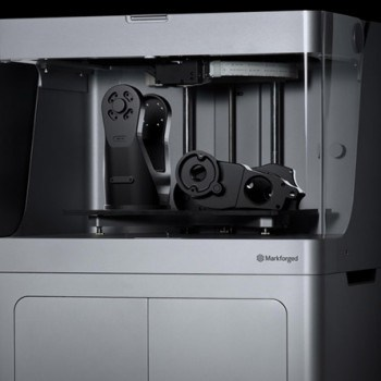 The Markforged Mark X for Industrial-Scale 3D Printing of Strong, End-Use Carbon Fiber Parts