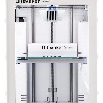 The new Ultimaker 3 Extended 3D printer