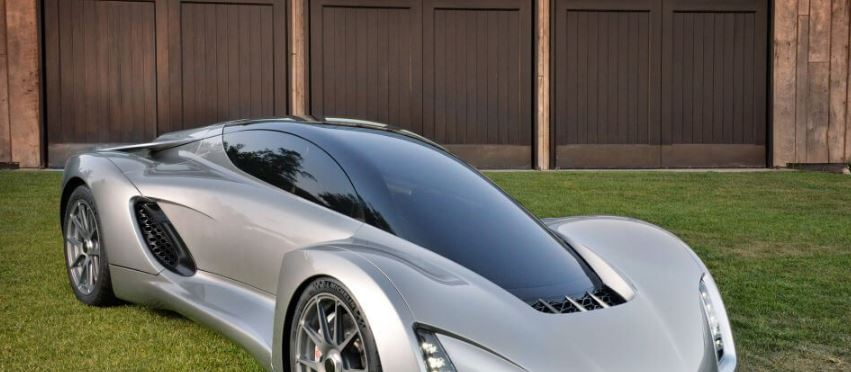 picture of a 3d printed car