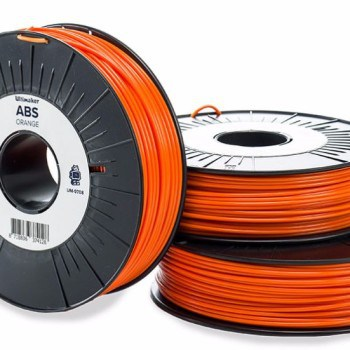 Official Ultimaker ABS filament in orange