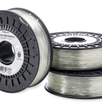 Official Ultimaker Nylon filament in transparent