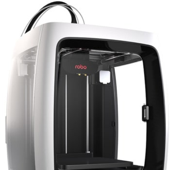 Robo R2 3D printer from the side