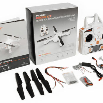 3D printed drone kit to 3D print a quadcopter