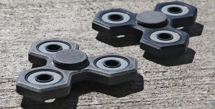 Children Of Airwolf 3D Employees Designed A Printed Fidget Spinners For ADHD Awareness