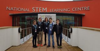 A team of students from George Watson College worked to design 3D printed satellite for a competition