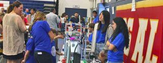 The STEAM showcase in the Los Alamitos School District let students experience 3D printing