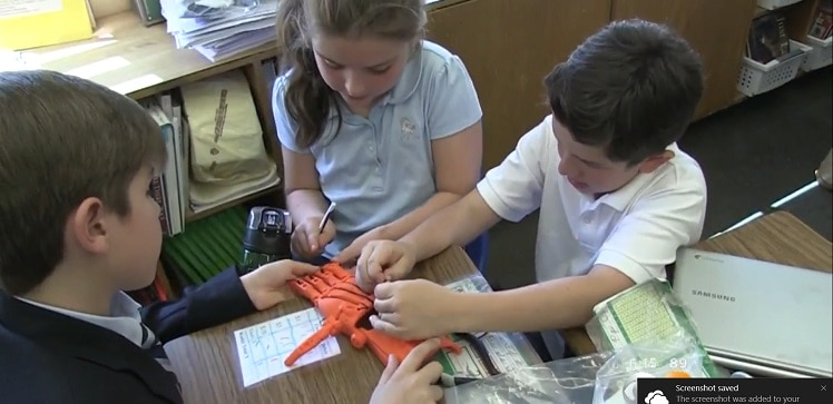 Third grade students from Long Island worked to 3D print prosthetic hands