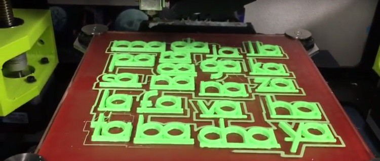 Elementary school students in Houston are learning Spanish thanks to 3D printed letters